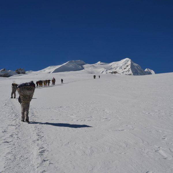 Aufstieg zum Mera Peak 6461m